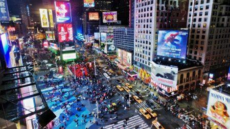 new york, liveliness, street