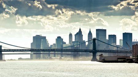 new york, manhattan, panorama