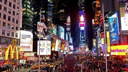 new york, manhattan, street