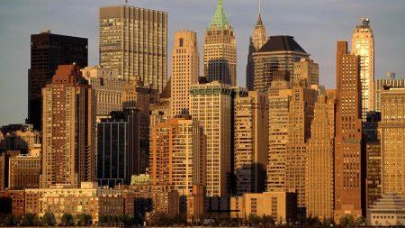 new york, skyscrapers, buildings