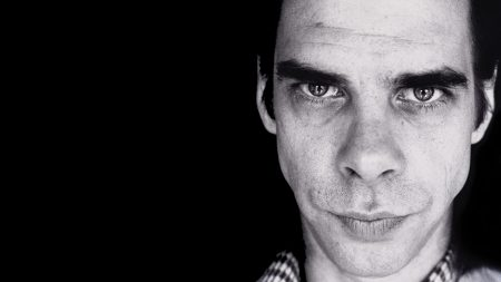 nick cave, face, look