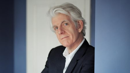 nick lowe, suit, grey-haired