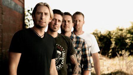 nickelback, band, sun