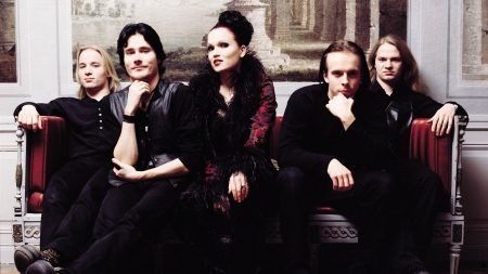 nightwish, band, couch
