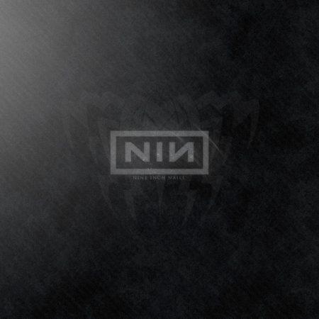 nine inch nails, background, font