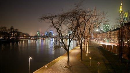 evening, frankfurt, channel