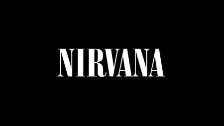 nirvana, sign, font