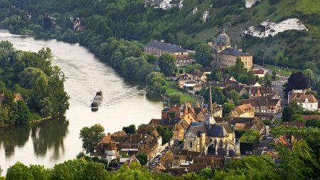 normandy, france, valley