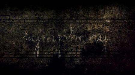notes, symphony, grunge
