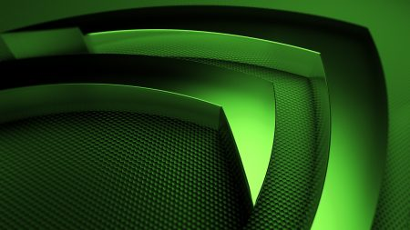 nvidia, green, symbol