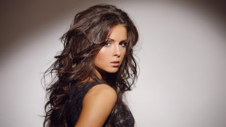 nyusha, girl, hair