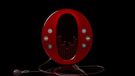 opera, icon, headphones
