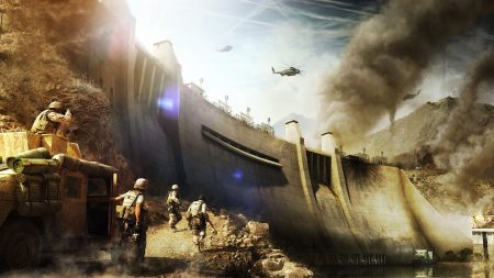 operation flashpoint red river, dam, soldiers