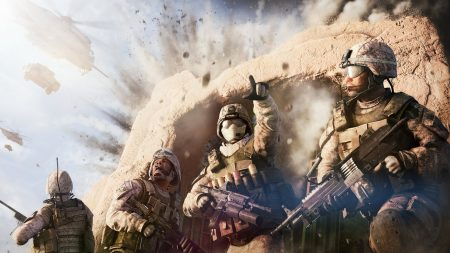 operation flashpoint red river, soldiers, explosion