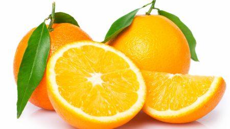 oranges, cut, slice