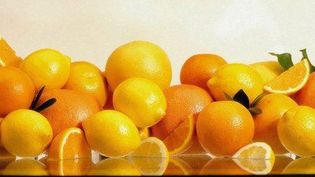 oranges, grapefruits, lemons
