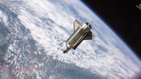 orbit, flight, earth