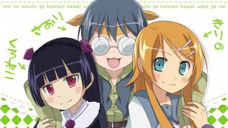 ore no imouto saori, anime, girls