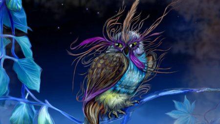 owl, pheasant, being