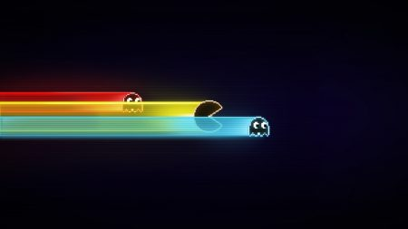 pacman, game, graphics