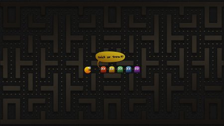 pacman, maze, character