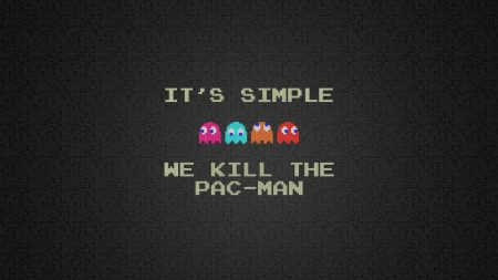 pacman, quote, characters