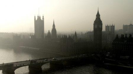 panorama, city, london