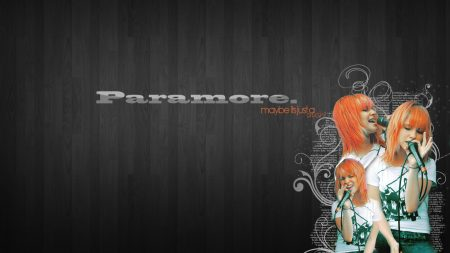 paramore, background, name