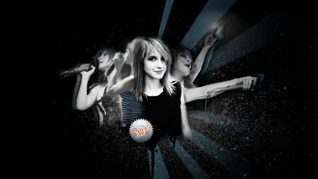 paramore, girl, graphics