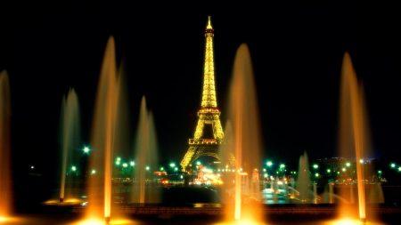 paris, eiffel tower, city