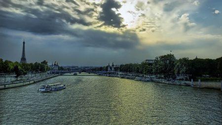 paris, france, river