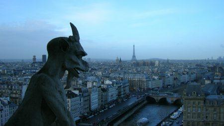 paris, sculpture, france