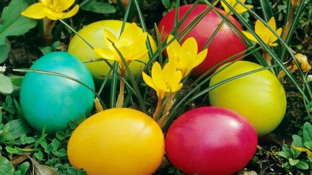 pascha, eggs, painted