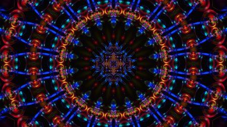 patterns, dark, spinning