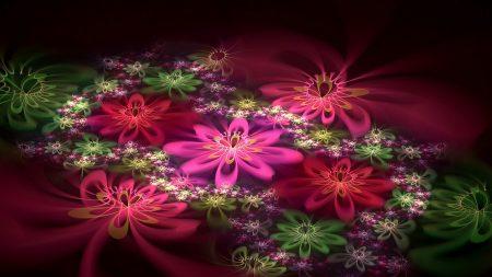 patterns, flowers, fractal