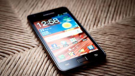 pda, phone, black