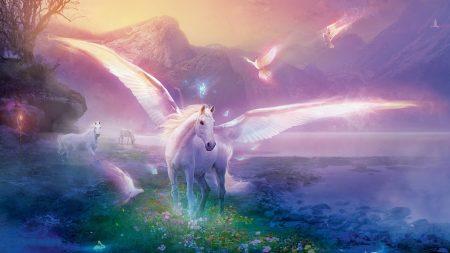 pegasus, horse, magic