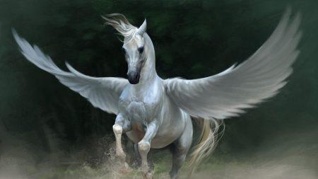 pegasus, horse, wings