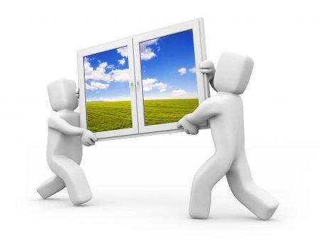 people, window, move