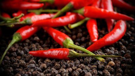 pepper, red, sharp