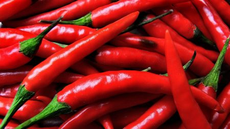 pepper, red, spices