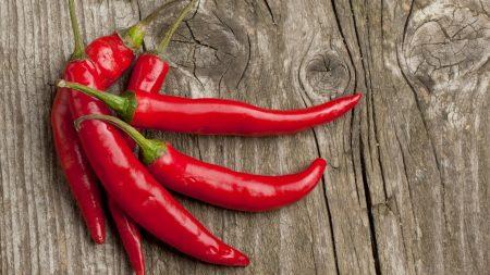 pepper, sharp, red