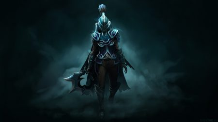 phantom assassin, dota 2, dark wraith set