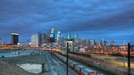 philadelphia, railway, building