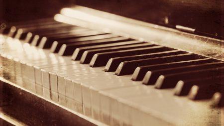 piano, music, background