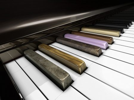 piano, musical instrument, key