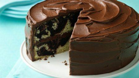 pie, cream, chocolate