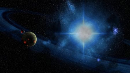 planet, explosion, space