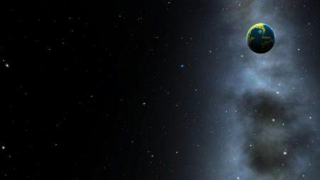 planet, galaxy, nebula