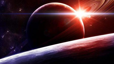 planet, star, circle